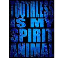 Toothless is my Spirit Animal Photographic Print