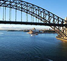 Sydney Harbour East by bidya