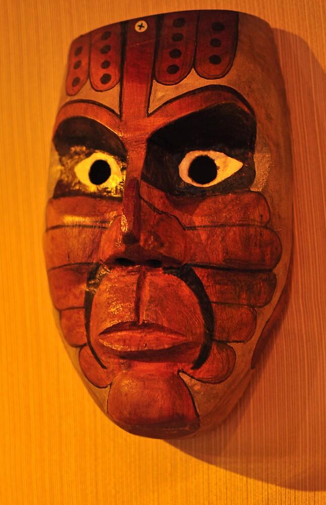 Calusa Ceremonial Mask by John  Kapusta