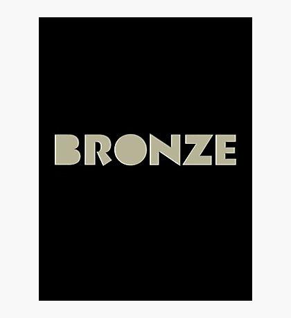 The Bronze Photographic Print