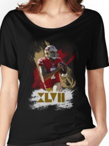 Colin Kapernick - Golden XVII Women's Relaxed Fit T-Shirt
