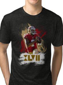 Colin Kapernick - Golden XVII Tri-blend T-Shirt