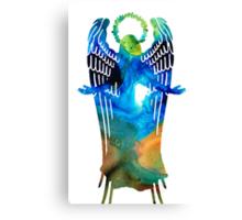 Angel of Light - Spiritual Art Painting Canvas Print