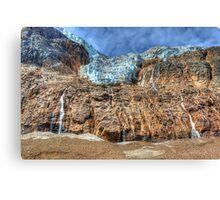 Angel Glacier Canvas Print