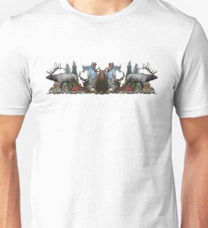 North American Wildlife  Unisex T-Shirt