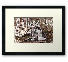 Silky strings Framed Print