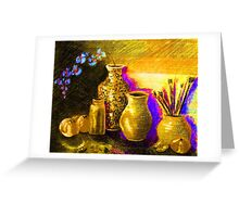 Artists Workspace Greeting Card