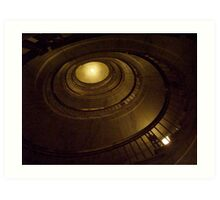 Elliptical Stairway -- US Supreme Court Building Art Print