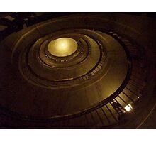 Elliptical Stairway -- US Supreme Court Building Photographic Print