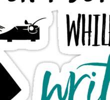 Writing Sticker