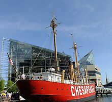 The Lightship Chesapeake by Hope Ledebur