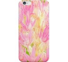 Pink And Yellow Summer Impression iPhone Case/Skin