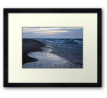 Blues and Stones Framed Print