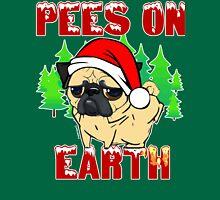 Pees on Earth Pug T-Shirt