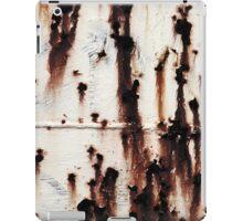 Rust texture iPad Case/Skin