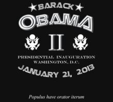 Barack Obama Inauguration Kids Tee