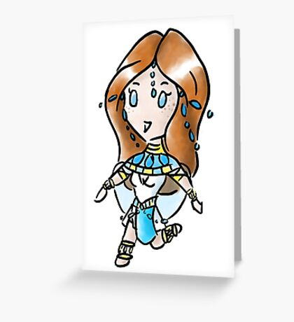 Lita Chibi Greeting Card