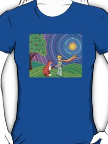 The Little Prince and the Fox T-Shirt
