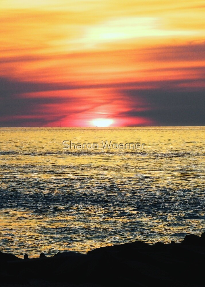 Sunset Beach by Sharon Woerner