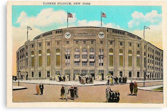 Yankee Stadium by Bill Cannon