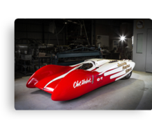 Jocko Streamlined Dragster Canvas Print