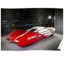 Jocko Streamlined Dragster Poster