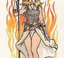 brunhilde pin-up by character undefined