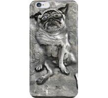 Pug in Carbonite iPhone Case/Skin