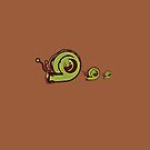 Snail Family by Jessicabritton