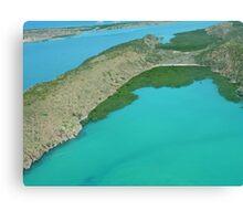Flight from One Arm Point (Bardi) to Talbot Bay, Kimberley, Western Australia Canvas Print