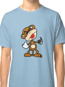 poop throwing monkey Classic T-Shirt