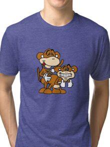 monkey love! Tri-blend T-Shirt