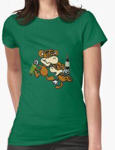 drunken monkeys Womens T-Shirt