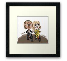 Bill & Beatrix Framed Print