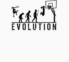 Evolution of Man to Basketball Slam Dunk T-Shirt