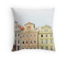 Squashed Squares. Throw Pillow