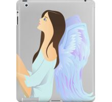 angel watch the star iPad Case/Skin