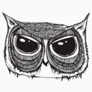 Giant eyes Owl 1  by annieclayton
