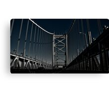 To New Jersey Canvas Print