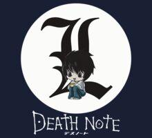 L | DEATH NOTE Kids Clothes