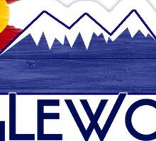 Englewood Colorado wood mountains Sticker