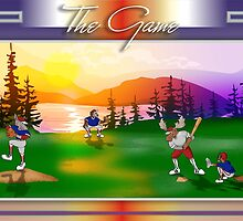 The Game Baseball by BeardedFish13