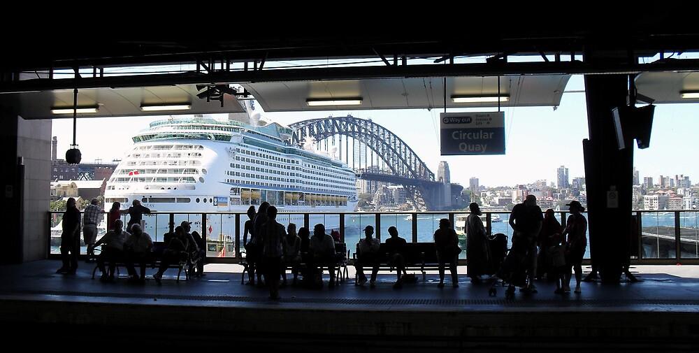 Circular Quay, Sydney 6th January 2013 by Stephen Denham