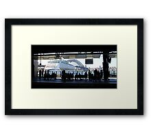 Circular Quay, Sydney 6th January 2013 Framed Print