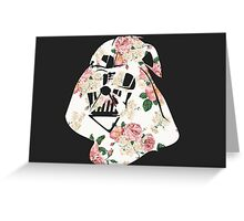 Floral Helmet Greeting Card