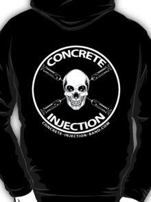 concrete injection skull logo T-Shirt