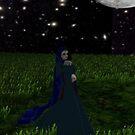 Christine Daae in the moonlight by Godofmischief