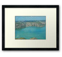 Flight from One Arm Point (Bardi) to Talbot Bay, Western Australia 2 Framed Print
