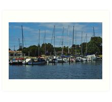 The Masts Have It Art Print