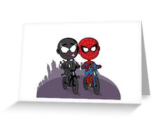 Venom & Spidey Greeting Card